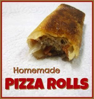 Homemade Pizza Roll cooked and sliced open on white background close up