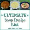 Ultimate Soup Recipe List badge