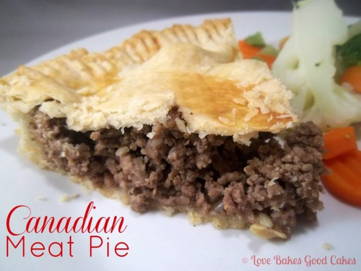 Canadian Meat Pie