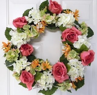 DIY Florist-Grade Spring Wreath fromThe Penny-Wise Mommy.