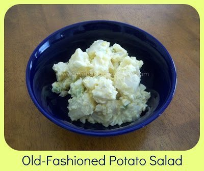 Old-Fashioned Potato Salad.