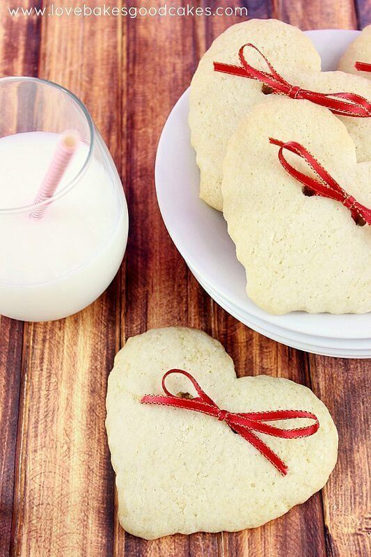 Hearts & Bows Cookies