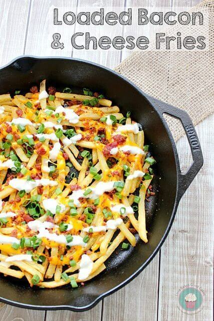 Loaded Bacon and Cheese Fries
