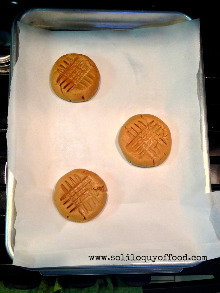 Biscoff Butter Cookies on cookie sheet.