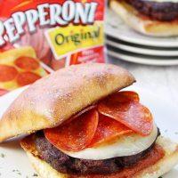 Italian Pepperoni Burger
