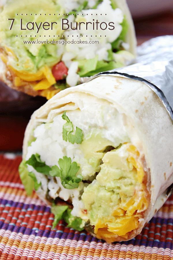 7 Layer Burrito