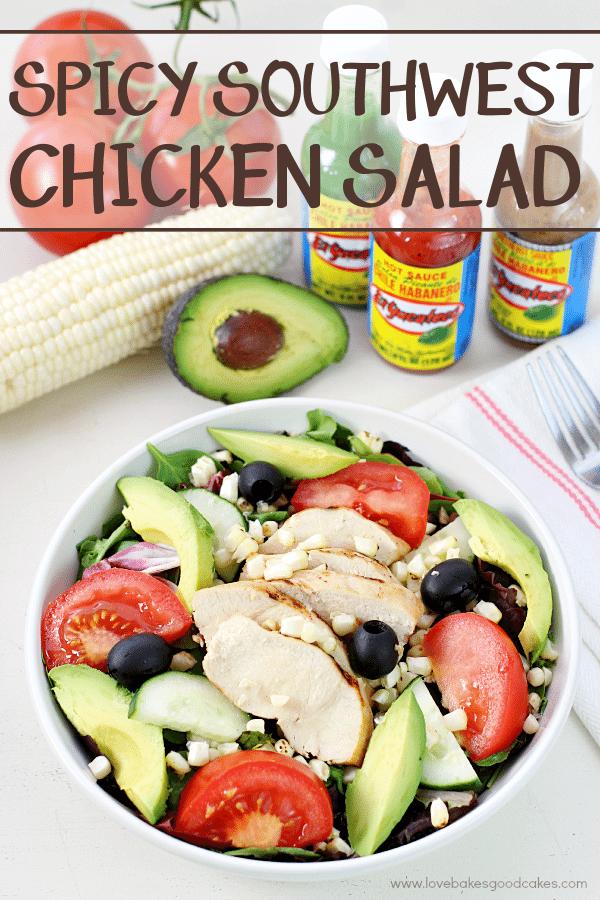 Spicy Southwest Chicken Salad