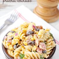 Creamy Chipotle Pasta Salad