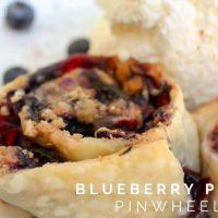 Blueberry Pie Pinwheels