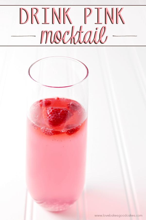 Drink Pink Mocktail