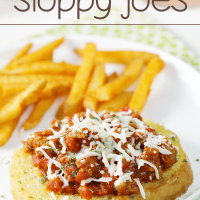 Garlic Bread Italian Sloppy Joes
