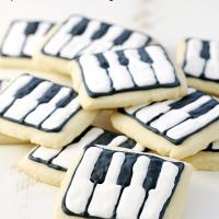 Schroeder's Piano Key Cookies