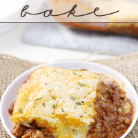Cheesy Sloppy Joe Bake