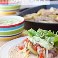 Chicken Apple Tacos