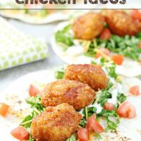 Ranch Honey BBQ Chicken Tacos