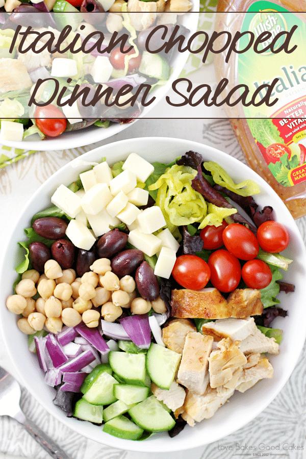 Chopped Italian Dinner Salad