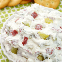 Dill Pickle Wrap Dip