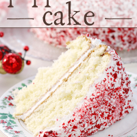 Holiday Peppermint Cake