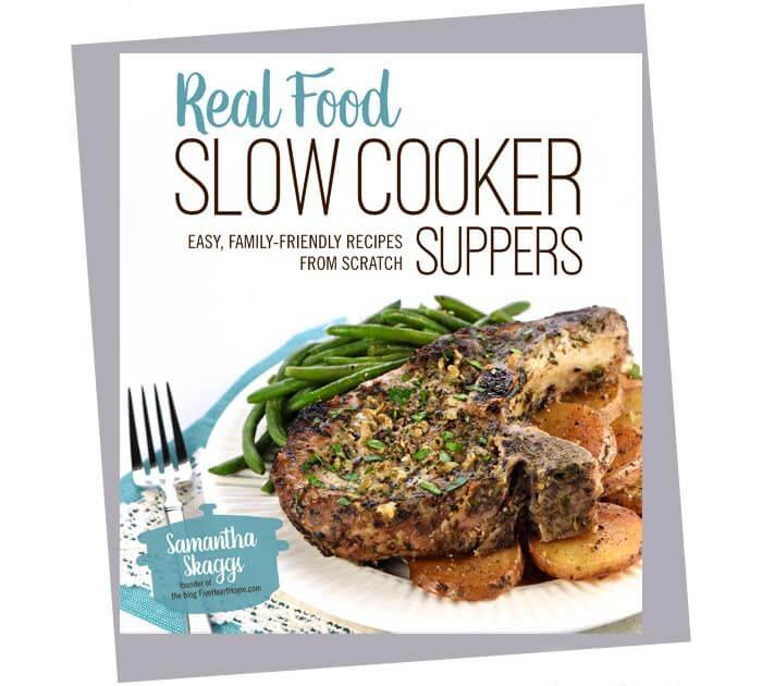 Real Food Suppers book.