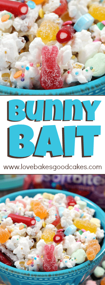 Bunny Bait collage.
