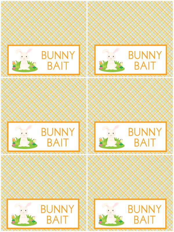 Bunny Bait Printable.