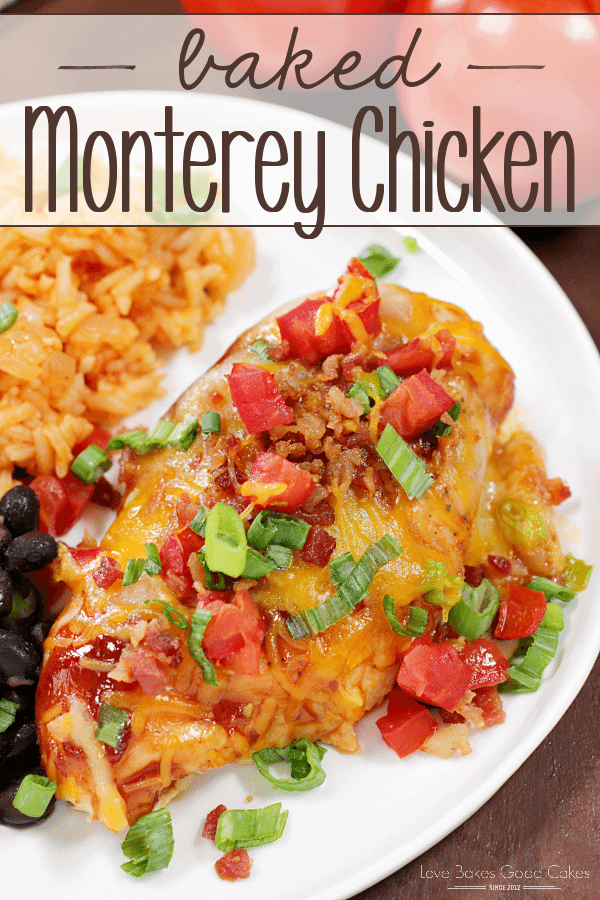 Baked Monterey Chicken