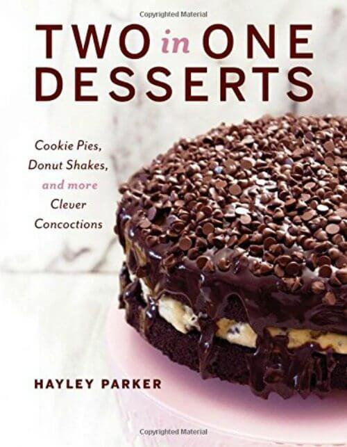 Two in One Desserts Cookbook.