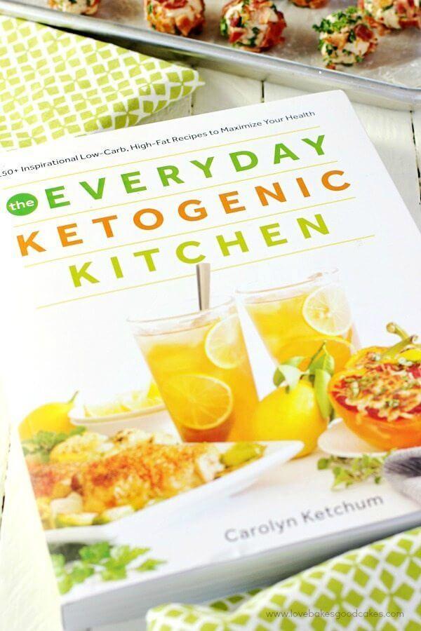 The Everyday Ketogenic Kitchen cookbook.