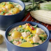 Mexican Chicken & Corn Chowder