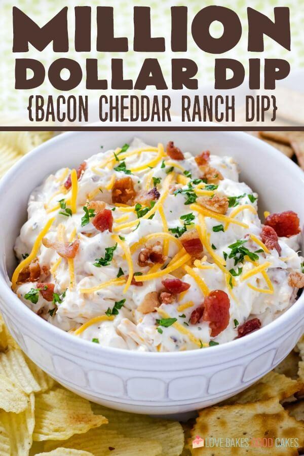 Million Dollar Dip - Bacon Cheddar Ranch Dip HERO