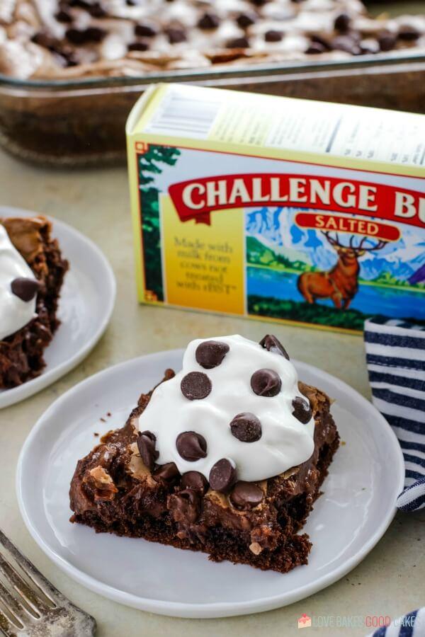 Triple Chocolate Ooey Gooey Butter Cake