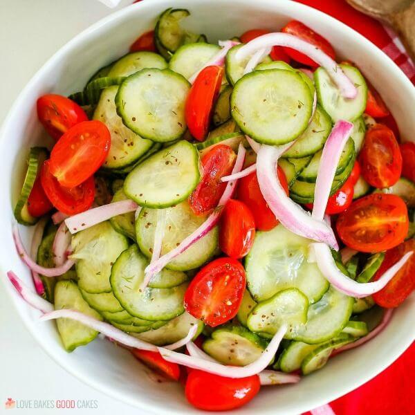 Garden-fresh Cucumber Salad