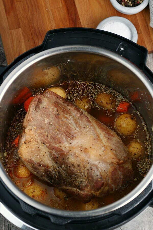 Instant Pot Pork Roast Love Bakes Good Cakes
