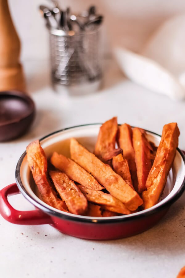 Oven Baked Sweet Potato Fries Love Bakes Good Cakes